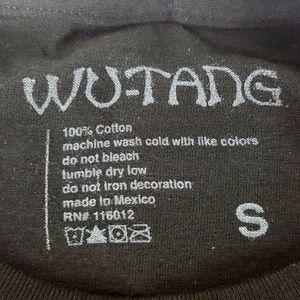 wu-tang Shirts - Wutang Clan RZA Staten Island Rap Tee Small S